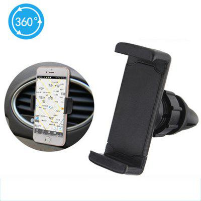 360 Car Air Conditioning Mouth Phone Bracket Vent Universal Phone Holder - BlackOther Car Gadgets<br>360 Car Air Conditioning Mouth Phone Bracket Vent Universal Phone Holder - Black<br><br>Color: Black<br>Features: Durable<br>Material: ABS<br>Package Contents: 1 x  Phone Bracket<br>Package size (L x W x H): 7.50 x 7.50 x 3.00 cm / 2.95 x 2.95 x 1.18 inches<br>Package weight: 0.0450 kg