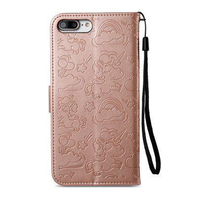 Case Cover for iPhone 7 Plus / 8 Plus Double Sides Embossed Clouds Leather Shell with WalletiPhone Cases/Covers<br>Case Cover for iPhone 7 Plus / 8 Plus Double Sides Embossed Clouds Leather Shell with Wallet<br><br>Compatible for Apple: iPhone 7 Plus, iPhone 8 Plus<br>Features: Cases with Stand, With Credit Card Holder<br>Material: TPU, PU Leather<br>Package Contents: 1 x Phone Case<br>Package size (L x W x H): 16.00 x 14.00 x 10.00 cm / 6.3 x 5.51 x 3.94 inches<br>Package weight: 0.1000 kg<br>Product weight: 0.0500 kg<br>Style: Vintage