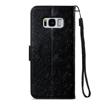 Case Cover for Samsung Galaxy S8 Double Sides Embossed Clouds Leather Shell with WalletSamsung S Series<br>Case Cover for Samsung Galaxy S8 Double Sides Embossed Clouds Leather Shell with Wallet<br><br>Compatible with: Samsung Galaxy S8<br>Features: Cases with Stand, With Credit Card Holder<br>For: Samsung Mobile Phone<br>Material: TPU, PU Leather<br>Package Contents: 1 x Phone Case<br>Package size (L x W x H): 18.00 x 10.00 x 4.00 cm / 7.09 x 3.94 x 1.57 inches<br>Package weight: 0.1000 kg<br>Product weight: 0.0500 kg<br>Style: Vintage