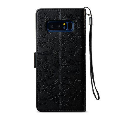 Case Cover for Samsung Galaxy Note 8 Double Sides Embossed Clouds Leather Shell with WalletSamsung Note Series<br>Case Cover for Samsung Galaxy Note 8 Double Sides Embossed Clouds Leather Shell with Wallet<br><br>Compatible for Samsung: Samsung Galaxy Note 8<br>Features: Cases with Stand, With Credit Card Holder, With Lanyard<br>For: Samsung Mobile Phone<br>Material: TPU, PU Leather<br>Package Contents: 1 x Phone Case<br>Package size (L x W x H): 18.00 x 10.00 x 4.00 cm / 7.09 x 3.94 x 1.57 inches<br>Package weight: 0.1000 kg<br>Product weight: 0.0500 kg<br>Style: Vintage