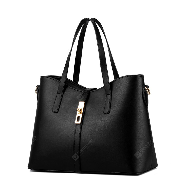 Women's Handbag Simple Style All Matched Solid Color Bag