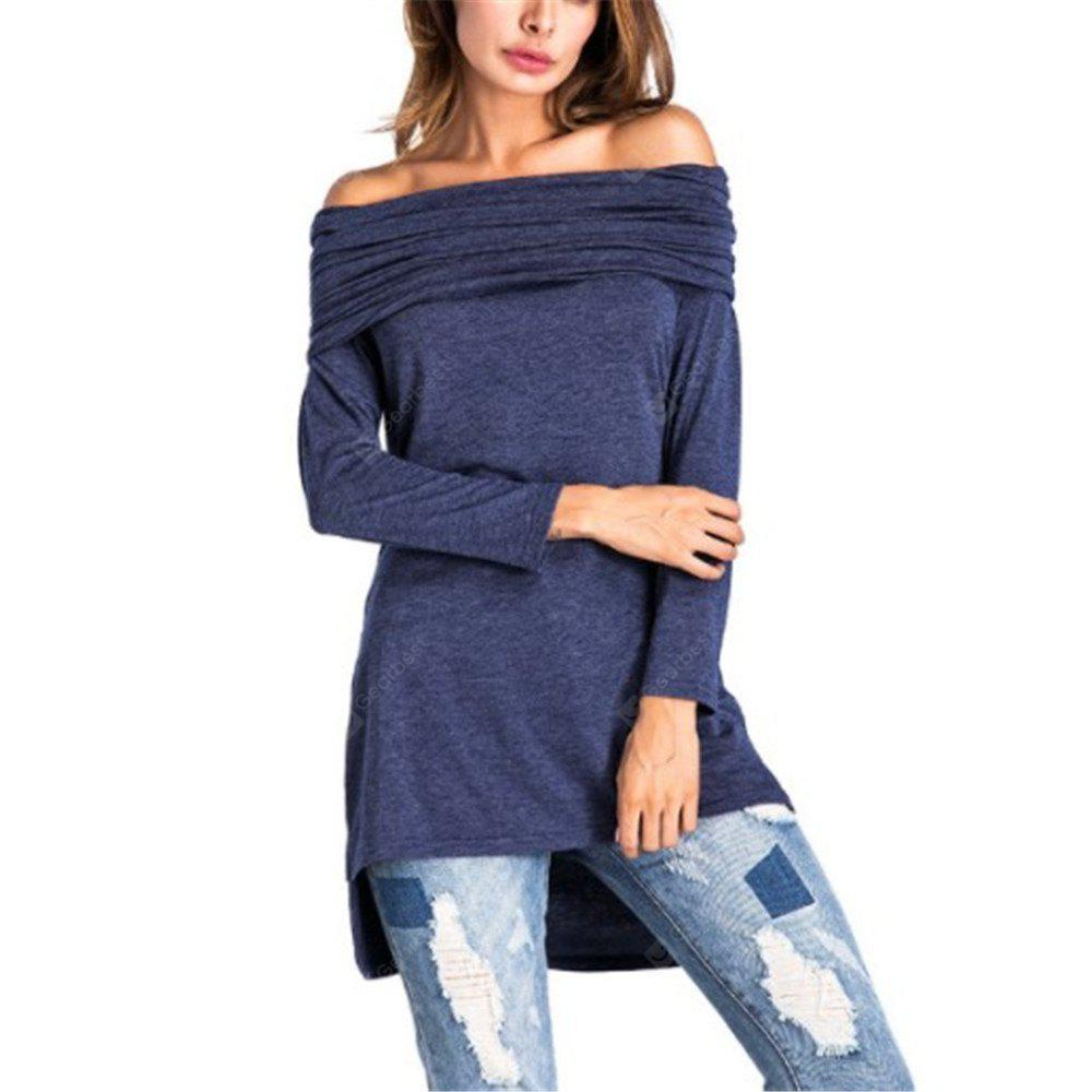 European and American Hat Long Sleeved T-shirts