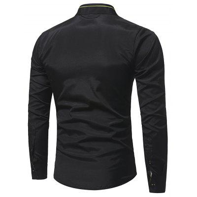 Mens casual long sleeve shirtMens Shirts<br>Mens casual long sleeve shirt<br><br>Collar: Turn-down Collar<br>Material: Cotton<br>Package Contents: 1xShirts<br>Shirts Type: Casual Shirts<br>Sleeve Length: Full<br>Weight: 0.1800kg