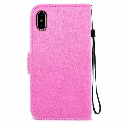 Case For iPhone X Horse Hair Card Holder Wallet with Stand Flip Full Body Solid Color Flower Hard Genuine LeatheriPhone Cases/Covers<br>Case For iPhone X Horse Hair Card Holder Wallet with Stand Flip Full Body Solid Color Flower Hard Genuine Leather<br><br>Compatible for Apple: iPhone X<br>Features: Cases with Stand, With Credit Card Holder, With Lanyard, FullBody Cases<br>Material: Fur<br>Package Contents: 1 x Phone Case<br>Package size (L x W x H): 17.00 x 11.00 x 1.00 cm / 6.69 x 4.33 x 0.39 inches<br>Package weight: 0.0650 kg<br>Product weight: 0.0600 kg<br>Style: Solid Color