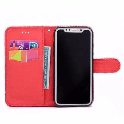For iPhone X Case Horse hair Card Holder Wallet with Stand Flip Full Body Solid Color Hard Genuine LeatheriPhone Cases/Covers<br>For iPhone X Case Horse hair Card Holder Wallet with Stand Flip Full Body Solid Color Hard Genuine Leather<br><br>Compatible for Apple: iPhone X<br>Features: Cases with Stand, With Credit Card Holder, With Lanyard, FullBody Cases<br>Material: TPU, Fur<br>Package Contents: 1 x Phone Case<br>Package size (L x W x H): 17.00 x 11.00 x 1.00 cm / 6.69 x 4.33 x 0.39 inches<br>Package weight: 0.0650 kg<br>Product weight: 0.0600 kg<br>Style: Solid Color