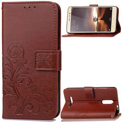 Embossing Card Slot Wallet Cover Case for Xiaomi Redmi Note 3