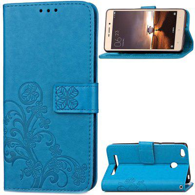 Embossing Card Slot Wallet Cover Case for Xiaomi Redmi 3 Pro / 3S