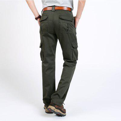 Plus Cashmere Casual TrousersMens Pants<br>Plus Cashmere Casual Trousers<br><br>Fit Type: Loose<br>Front Style: Flat<br>Material: Cotton, Microfiber<br>Package Contents: 1 x trousers<br>Pant Length: Long Pants<br>Pant Style: Cargo Pants<br>Style: Novelty<br>Waist Type: Mid<br>Weight: 0.9200kg