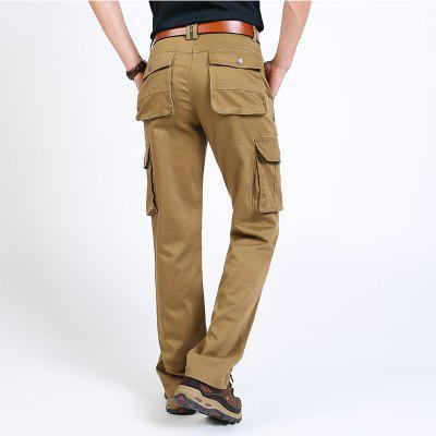 Casual Multi-Bag TrousersMens Pants<br>Casual Multi-Bag Trousers<br><br>Fit Type: Loose<br>Front Style: Flat<br>Material: Cotton, Spandex<br>Package Contents: 1 x Trousers<br>Pant Length: Long Pants<br>Pant Style: Straight<br>Style: Fashion<br>Waist Type: Mid<br>Weight: 0.9800kg
