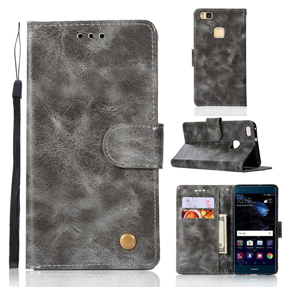 Flip Leather Case PU Wallet Case For Huawei P9 Lite Smart Cover Extravagant Retro Fashion Phone Bag with Stand