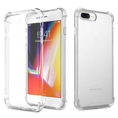 Case Cover for iPhone 7 Plus / 8 Plus Shockproof TPU Transparent Protective Four Corners Skin