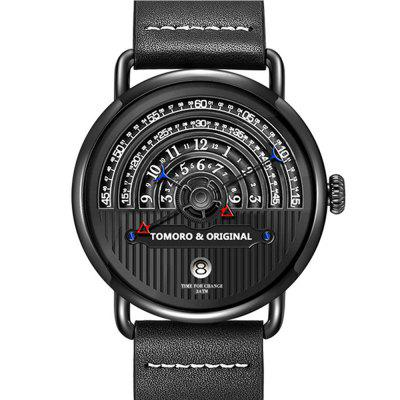 Most Creative Tactical Unique Hour Reading Designer Reloj Hombre Men Watches Casual Male Quartz Clock Watch