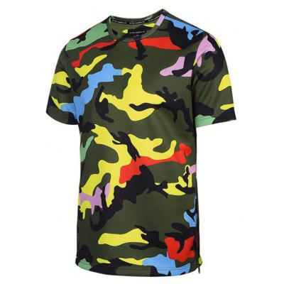 Street Fashion Creative Color Camouflage 3D Printed Short Sleeve T-ShirtMens T-shirts<br>Street Fashion Creative Color Camouflage 3D Printed Short Sleeve T-Shirt<br><br>Collar: Round Neck<br>Material: Polyester<br>Package Contents: 1xT-shirt<br>Pattern Type: Print<br>Sleeve Length: Short Sleeves<br>Style: Fashion<br>Weight: 0.2000kg