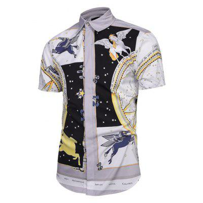 Street Style Creative Flying Horse 3D Digital Printed Short-Sleeve ShirtMens Shirts<br>Street Style Creative Flying Horse 3D Digital Printed Short-Sleeve Shirt<br><br>Collar: Turn-down Collar<br>Material: Polyester<br>Package Contents: 1xshirt<br>Shirts Type: Casual Shirts<br>Sleeve Length: Short<br>Weight: 0.2000kg