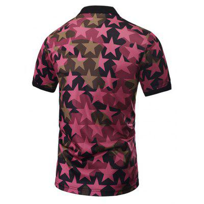 Hip Hop Street Creative Stars 3D Digital Printed POLO ShirtsMens T-shirts<br>Hip Hop Street Creative Stars 3D Digital Printed POLO Shirts<br><br>Collar: Turn-down Collar<br>Color Style: Contrast Color<br>Fabric Type: Jersey<br>Material: Polyester<br>Package Contents: 1xPOLO shirt<br>Pattern Type: Star<br>Sleeve Length: Short<br>Style: Fashion<br>Type: Regular<br>Weight: 0.2000kg