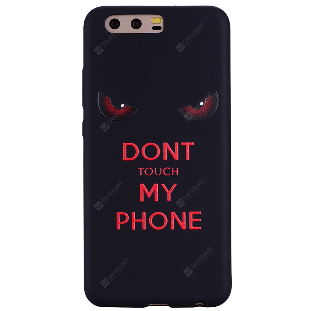 Pour Huawei P10 Red Eye TPU Téléphone Mobile Protection Shell