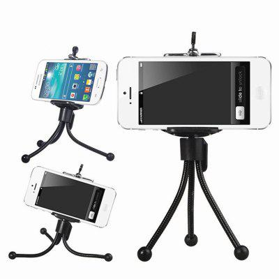 Metal Mini Phone Desktop Tripod Stand Holder
