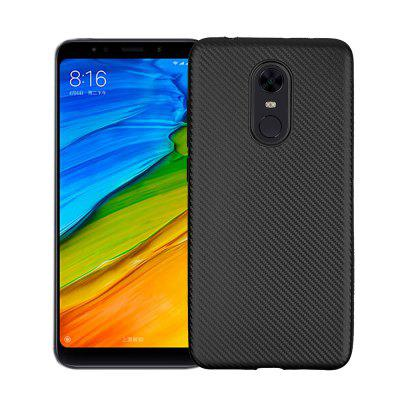 Ultra-slim TPU Carbon Fiber Matte Phone Case for Xiaomi Redmi 5 Plus