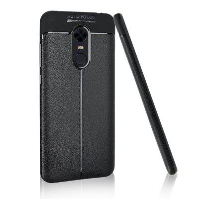 Soft Touch TPU Case with Lichee Pattern for Xiaomi Redmi 5 PlusCases &amp; Leather<br>Soft Touch TPU Case with Lichee Pattern for Xiaomi Redmi 5 Plus<br><br>Color: Black<br>Features: Back Cover, Anti-knock<br>Mainly Compatible with: Xiaomi<br>Material: TPU<br>Package Contents: 1 x Case<br>Package size (L x W x H): 18.00 x 8.00 x 1.00 cm / 7.09 x 3.15 x 0.39 inches<br>Package weight: 0.0300 kg<br>Product Size(L x W x H): 16.00 x 7.80 x 0.90 cm / 6.3 x 3.07 x 0.35 inches<br>Product weight: 0.0230 kg<br>Style: Funny, Solid Color, Special Design, Novelty, Cool