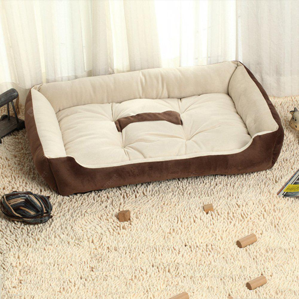 Lovoyager YX1002 Teddy'S Golden Retriever Kennel Dog Bed