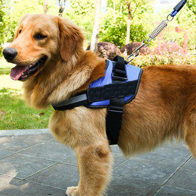 Lovoyager LVH15001 Pets Reflective Adjustable Control Harness For Dog Cat Neoprene Travel Clip Car Walk Safety Collar