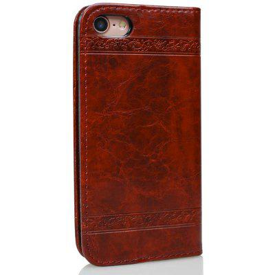 Cover Case for iPhone 7 / 8 Pure Color Embossing LeatheriPhone Cases/Covers<br>Cover Case for iPhone 7 / 8 Pure Color Embossing Leather<br><br>Compatible for Apple: iPhone 7, iPhone 8<br>Features: Cases with Stand, With Credit Card Holder, Anti-knock, Dirt-resistant, FullBody Cases<br>Material: TPU, PU Leather<br>Package Contents: 1 x Phone Case<br>Package size (L x W x H): 20.00 x 10.00 x 3.00 cm / 7.87 x 3.94 x 1.18 inches<br>Package weight: 0.0470 kg<br>Style: Vintage, Leather, Solid Color