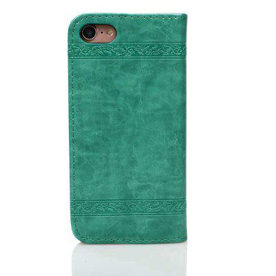 Cover Case for iPhone 7 / 8 Pure Color Embossing LeatheriPhone Cases/Covers<br>Cover Case for iPhone 7 / 8 Pure Color Embossing Leather<br><br>Compatible for Apple: iPhone 7, iPhone 8<br>Features: Cases with Stand, With Credit Card Holder, Anti-knock, Dirt-resistant, FullBody Cases<br>Material: PU Leather, TPU<br>Package Contents: 1 x Phone Case, 1 x Phone Case<br>Package size (L x W x H): 20.00 x 10.00 x 3.00 cm / 7.87 x 3.94 x 1.18 inches<br>Package weight: 0.0470 kg<br>Style: Vintage, Leather, Solid Color