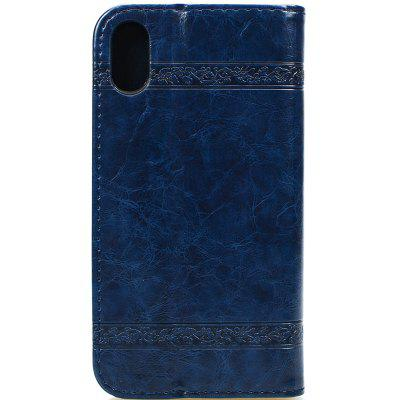 Cover Case for iPhone X Pure Color Embossing LeatheriPhone Cases/Covers<br>Cover Case for iPhone X Pure Color Embossing Leather<br><br>Compatible for Apple: iPhone X<br>Features: Cases with Stand, With Credit Card Holder, Anti-knock, Dirt-resistant, FullBody Cases<br>Material: TPU, PU Leather<br>Package Contents: 1 x Phone Case<br>Package size (L x W x H): 20.00 x 10.00 x 3.00 cm / 7.87 x 3.94 x 1.18 inches<br>Package weight: 0.0480 kg<br>Style: Vintage, Leather, Solid Color