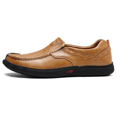 ZEACAVA Male Slinky Soft Sensible Manual Casual Oxford ShoesMen's Oxford<br>ZEACAVA Male Slinky Soft Sensible Manual Casual Oxford Shoes<br><br>Available Size: 39-44<br>Closure Type: Slip-On<br>Embellishment: None<br>Gender: For Men<br>Outsole Material: Rubber<br>Package Contents: 1 x Pair of Shoes<br>Pattern Type: Solid<br>Season: Spring/Fall<br>Toe Shape: Round Toe<br>Toe Style: Closed Toe<br>Upper Material: Cow Split<br>Weight: 1.2000kg