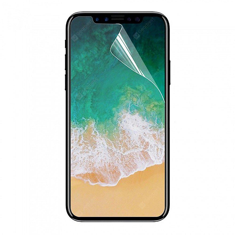 Minismile 5 Pcs Scratch-Proof Dust-Proof Matte Arm Screen Film Protector for iPhone X