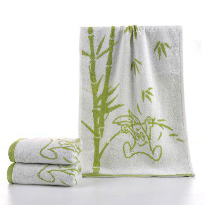 Bamboo Fiber Cartoon Jacquard Towel 51288