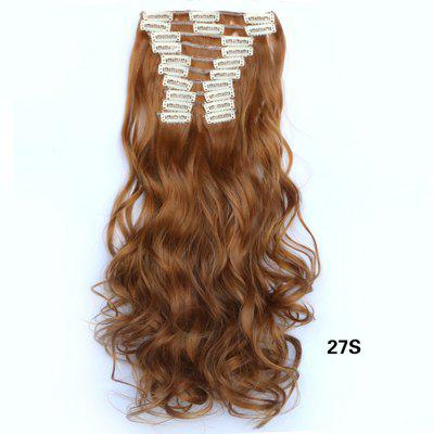 12 pcs/Set New Fashion Women Hair Accessories Long Wavy Extension Synthetic Curls Hair WigsHair Extensions<br>12 pcs/Set New Fashion Women Hair Accessories Long Wavy Extension Synthetic Curls Hair Wigs<br><br>Fabric: Heat Resistant Synthetic Hair<br>Hair Extension Type: Clip-In/On<br>Length: Long<br>Length Size(CM): 55<br>Package Contents: 1 x Wig<br>Package size (L x W x H): 10.00 x 6.00 x 4.00 cm / 3.94 x 2.36 x 1.57 inches<br>Package weight: 0.1600 kg<br>Product weight: 0.1500 kg<br>Style: Curly<br>Weight: 0.1600kg