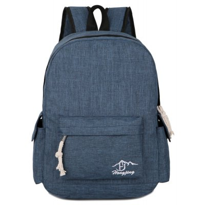 Preppy Stylish Water Resistant Big Space Casual Student BackpackBackpacks<br>Preppy Stylish Water Resistant Big Space Casual Student Backpack<br><br>For: Traveling, Climbing, Fishing, Cycling, Camping, Hiking, Adventure<br>Material: Nylon, Polyester<br>Package Contents: 1 x Backpack<br>Package size (L x W x H): 44.00 x 30.00 x 3.00 cm / 17.32 x 11.81 x 1.18 inches<br>Package weight: 0.6200 kg<br>Product weight: 0.6000 kg<br>Type: Backpack
