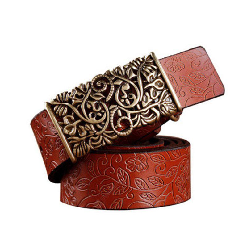 Women Leather Belt with Full Leather Belt and Vintage  The Leather Belt