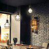 Nordic Iron Industry Vintage Home Decor Pendant Light Fixtures Restaurant DD-29 - BLACK