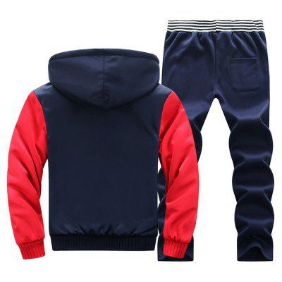 2017 Mens Fashion Long Sleeve SuitSports Clothing<br>2017 Mens Fashion Long Sleeve Suit<br><br>Clothes Type: Others<br>Materials: Polyester<br>Package Content: 1 X Coat?1 X Trousers<br>Package size (L x W x H): 1.00 x 1.00 x 1.00 cm / 0.39 x 0.39 x 0.39 inches<br>Package weight: 0.5000 kg<br>Size1: M,L,XL,4XL,2XL,3XL,5XL