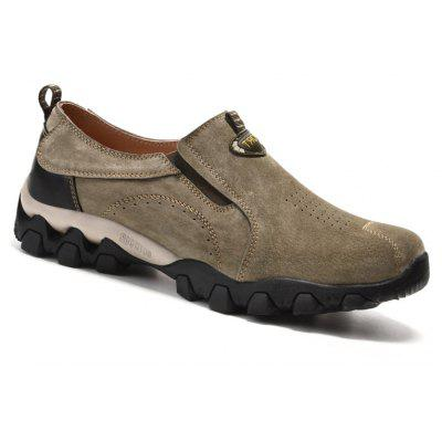 Men Casual Trend for Fashion Leather Flat Outdoor Shoes