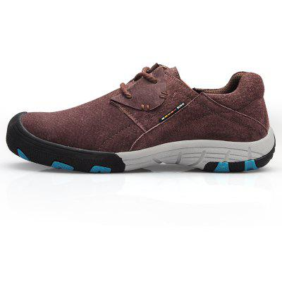 Men Casual Trend for Fashion Flat Lace Up Outdoor Leather ShoesCasual Shoes<br>Men Casual Trend for Fashion Flat Lace Up Outdoor Leather Shoes<br><br>Available Size: 38-44<br>Closure Type: Lace-Up<br>Embellishment: None<br>Gender: For Men<br>Outsole Material: Rubber<br>Package Contents: 1 x shoes pair<br>Pattern Type: Solid<br>Season: Summer, Spring/Fall<br>Toe Shape: Round Toe<br>Toe Style: Closed Toe<br>Upper Material: Suede<br>Weight: 1.2000kg