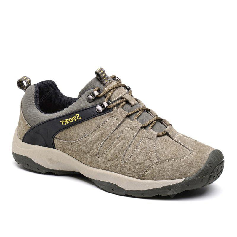 Men Casual Trend for Fashion Lace Up Flat Leather Outdoor Shoes