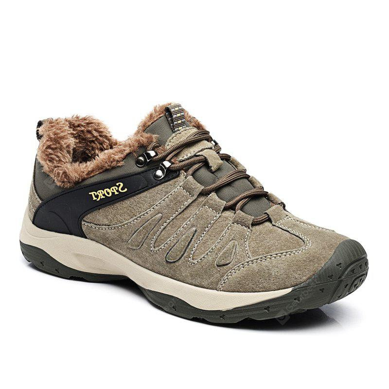 Men Casual Trend for Fashion Lace Up Flat Leather Suede Outdoor Shoes