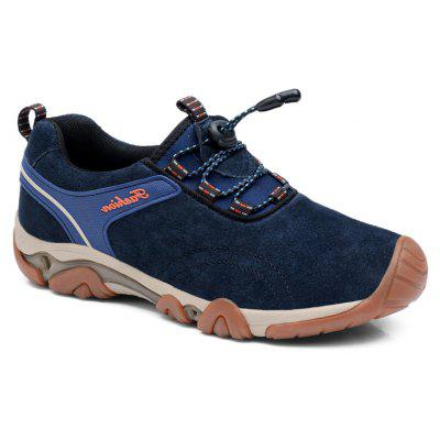 Men Casual Trend for Fashion Lace Up Outdoor Flat Type Leather Shoes