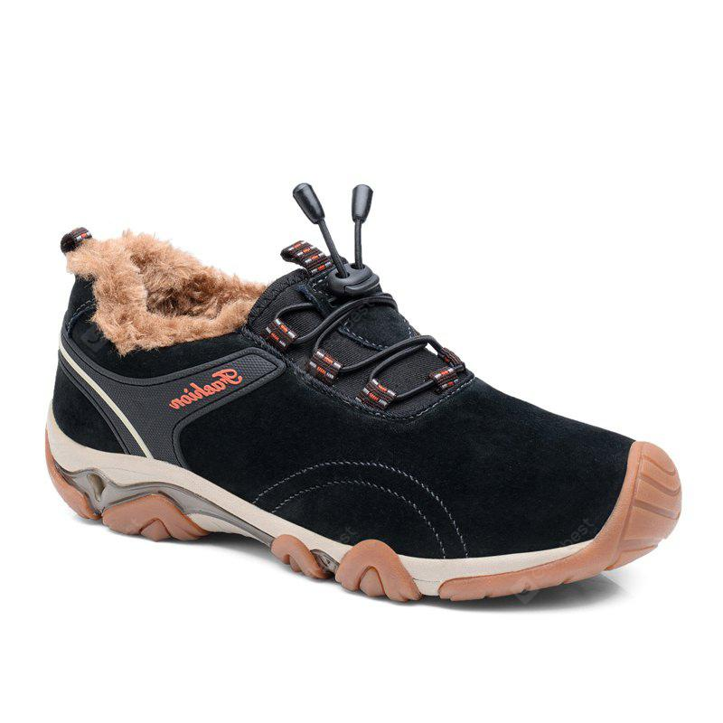 Men Casual Trend for Fashion Lace Up Outdoor Flat Type Leather Suede Shoes