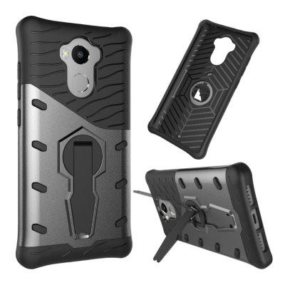 Case for Redmi 4 / 4 Prime / 4 Pro Shockproof with Stand 360 Rotation Back Cover Contrast Color Hard PC