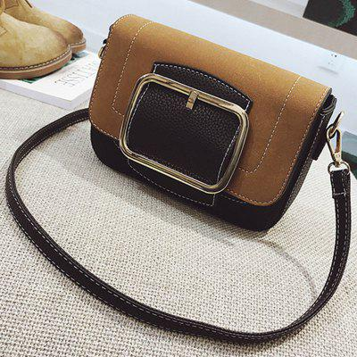 New Fashion Belt Decoration Contrast Color shoulder Messenger BagCrossbody Bags<br>New Fashion Belt Decoration Contrast Color shoulder Messenger Bag<br><br>Closure Type: Zipper &amp; Hasp<br>Gender: For Women<br>Handbag Type: Crossbody bag<br>Main Material: PU<br>Occasion: Versatile<br>Package Contents: 1 x Bag<br>Package size (L x W x H): 22.00 x 7.00 x 16.00 cm / 8.66 x 2.76 x 6.3 inches<br>Package weight: 0.6000 kg<br>Pattern Type: Solid<br>Product size (L x W x H): 21.00 x 6.00 x 15.00 cm / 8.27 x 2.36 x 5.91 inches<br>Product weight: 0.5500 kg<br>Style: Vintage