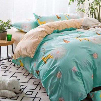 High Grade Aloe Vera Cotton Bedding Adult Sheet 4 Sets of Children Single BedBedding Sets<br>High Grade Aloe Vera Cotton Bedding Adult Sheet 4 Sets of Children Single Bed<br><br>Package Contents: 1 x Quilt Cover, 1 x Bed Sheet, 2 x Pillowcases<br>Package size (L x W x H): 38.00 x 34.00 x 3.00 cm / 14.96 x 13.39 x 1.18 inches<br>Package weight: 1.7000 kg<br>Product weight: 1.6000 kg
