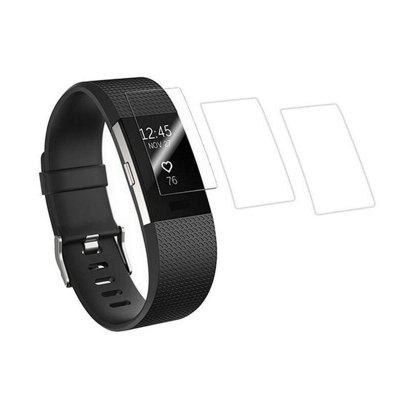 3st ultra dunne HD Clear beschermfolie Guard voor Fitbit Charge 2 polsband Full Screen Protector Cover