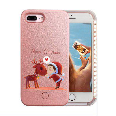 LED Illuminated Selfie Light Cell Phone Christmas Deer and Kids Pattern Case Cover for iPhone 8 PlusiPhone Cases/Covers<br>LED Illuminated Selfie Light Cell Phone Christmas Deer and Kids Pattern Case Cover for iPhone 8 Plus<br><br>Features: Back Cover<br>Material: PC<br>Package Contents: 1 x Phone Case, 1 x USB Cable<br>Package size (L x W x H): 17.00 x 8.00 x 2.00 cm / 6.69 x 3.15 x 0.79 inches<br>Package weight: 0.0500 kg<br>Product size (L x W x H): 15.00 x 7.00 x 1.00 cm / 5.91 x 2.76 x 0.39 inches<br>Product weight: 0.0400 kg<br>Style: Cartoon