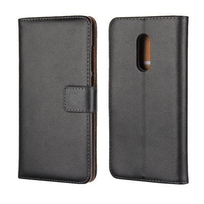 Cover Case for Redmi Note 4 Flat Two Layers of Cowhide Leather