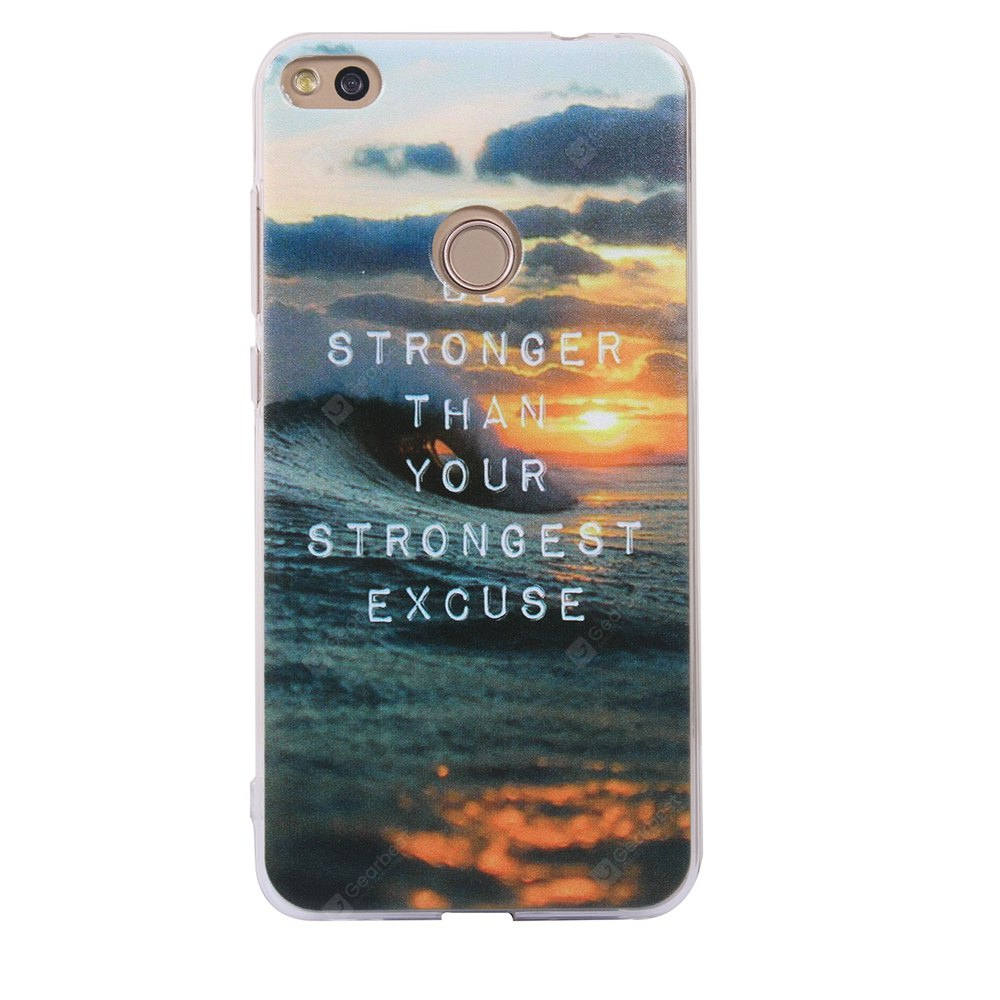 Cover Case For Huawei P8 Lite 2017 Fashion Printing Color Pattern Soft TPU Back Phone Case