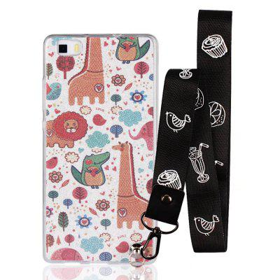 Cover Case for Huawei P8 Lite Bling-Bling Flash Powder Lanyard Soft TPU CaseChargers &amp; Cables<br>Cover Case for Huawei P8 Lite Bling-Bling Flash Powder Lanyard Soft TPU Case<br><br>Features: Back Cover<br>Material: TPU<br>Package Contents: 1 x Phone Case<br>Package size (L x W x H): 20.00 x 20.00 x 5.00 cm / 7.87 x 7.87 x 1.97 inches<br>Package weight: 0.0300 kg<br>Product weight: 0.0100 kg<br>Style: Pattern, Cute, Novelty, Cartoon